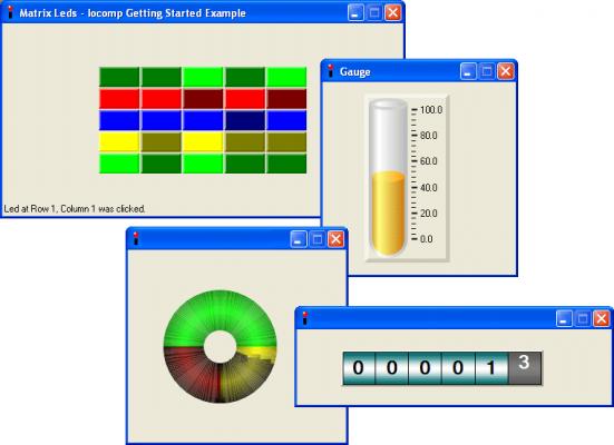About Iocomp .NET WinForms Instrumentation Pack Pro