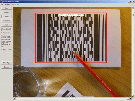 About Softek Barcode Reader Toolkit for Windows with PDF Extension