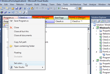 Tabs Studio Supports Visual Studio 2015