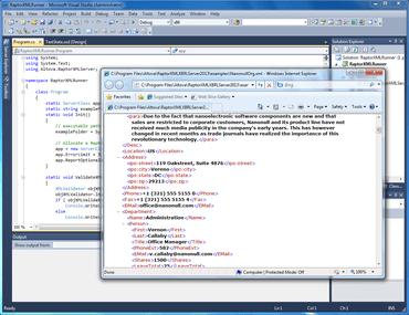 RaptorXML improves Python API