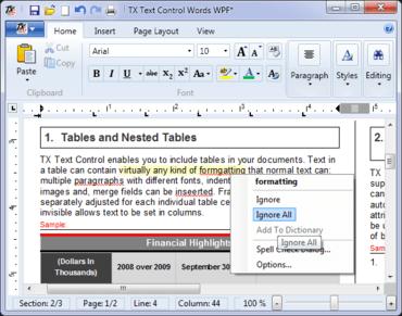 TX Spell .NET adds Spelling Correction UI Provider