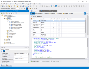dbForge Studio for SQL Server V5.0.337 released