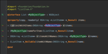 AppCode adds Generics Support