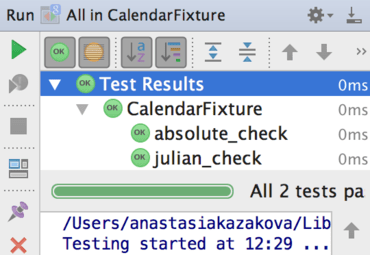 CLion 1.2 Improves Unit Testing