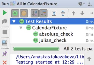 CLion 1.2 Improves Unit Testing