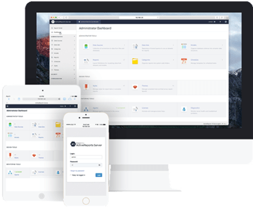 ActiveReports 10 Server adds Administrator Dashboard