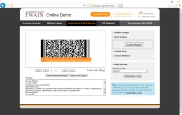 Dynamic Web TWAIN 11.2 adds PDF Rasterizer