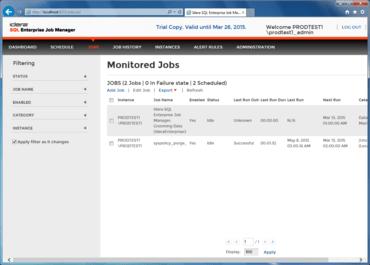 SQL Enterprise Job Manager released