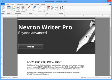 Nevron Writer Pro released