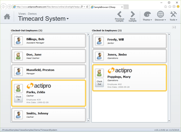 Actipro Views for Silverlight released