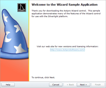 Actipro Wizard for Silverlight released