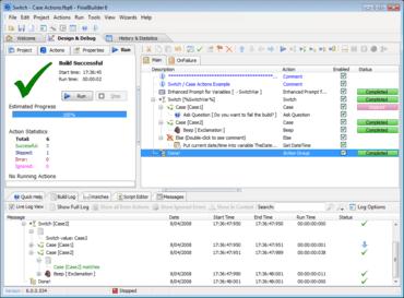 FinalBuilder 7.0 features new IDE