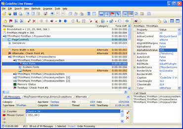 CodeSite supports RAD Studio XE