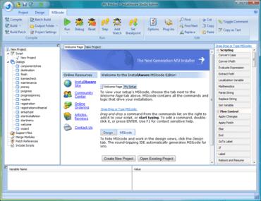 InstallAware adds native setup engine