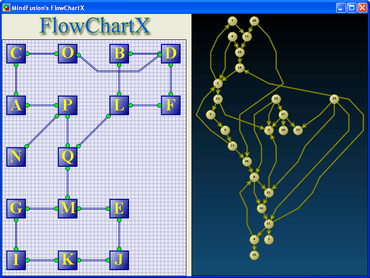 FlowChartX adds Annealing graph layout