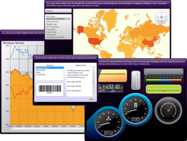 NetAdvantage for WPF adds Geographic Map