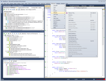 ReSharper 7 adds support for Visual Studio 2012