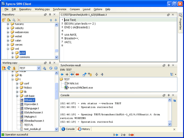 Syncro SVN Client improves File Exporting