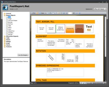 FastReport.Net 2013.1.25 released