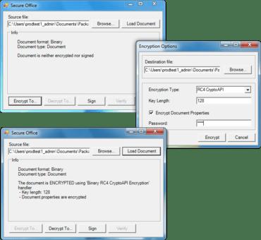 OfficeBlackbox improves Distributed Signing