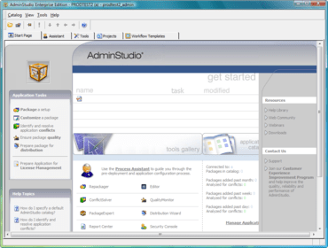 AdminStudio improves Mobile Application Support