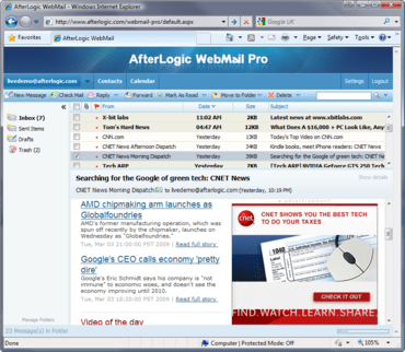 WebMail Pro patched