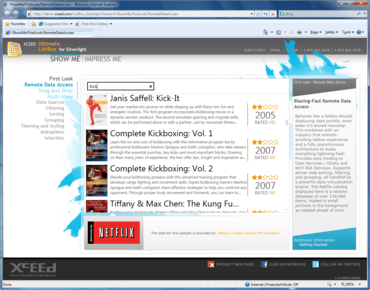Xceed Ultimate ListBox for Silverlight updated