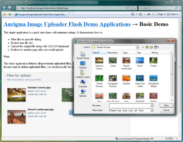 Streamline file uploads with Flash