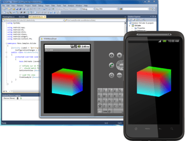 Build Android apps using Visual Studio