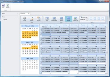 ComponentOne Scheduler for LightSwitch released