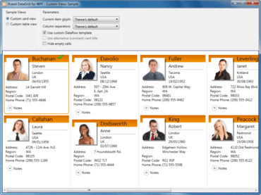 Xceed Business Suite for WPF Released