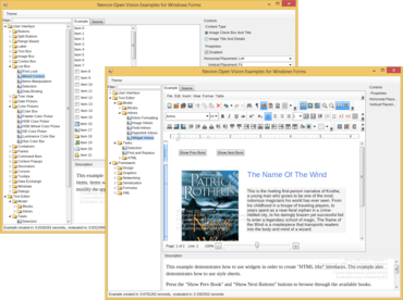 NOV Rich Text Editor released
