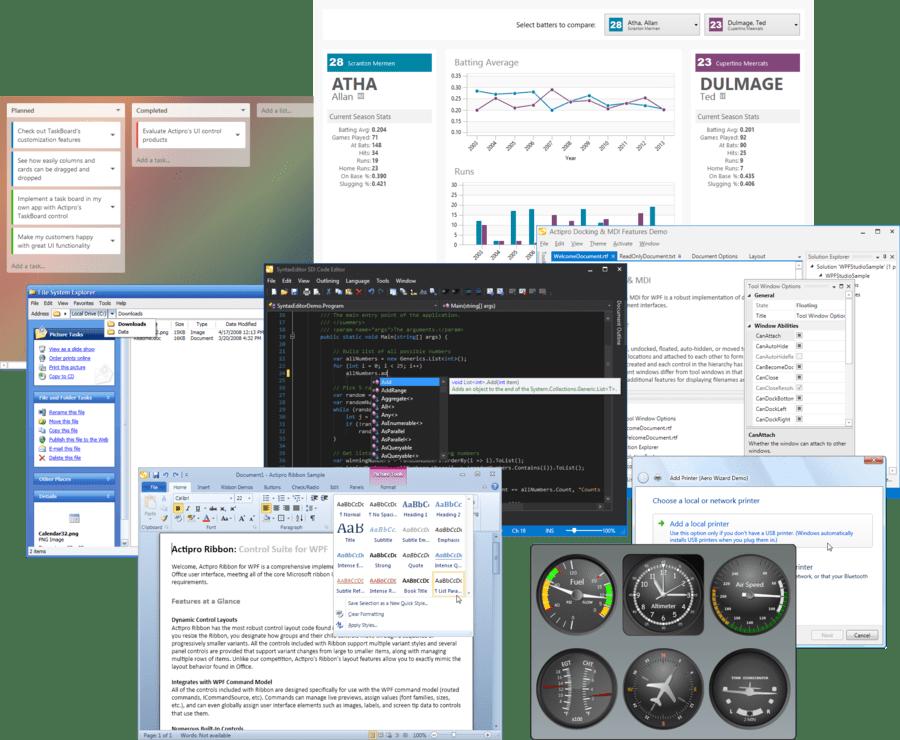 Screenshot of Actipro WPF Studio