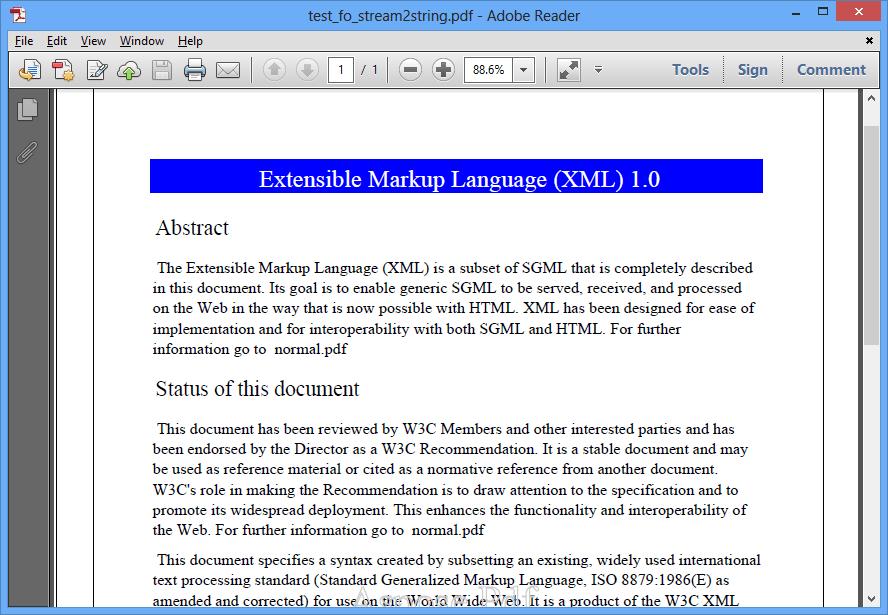 Screenshot of Aspose.Pdf for .NET