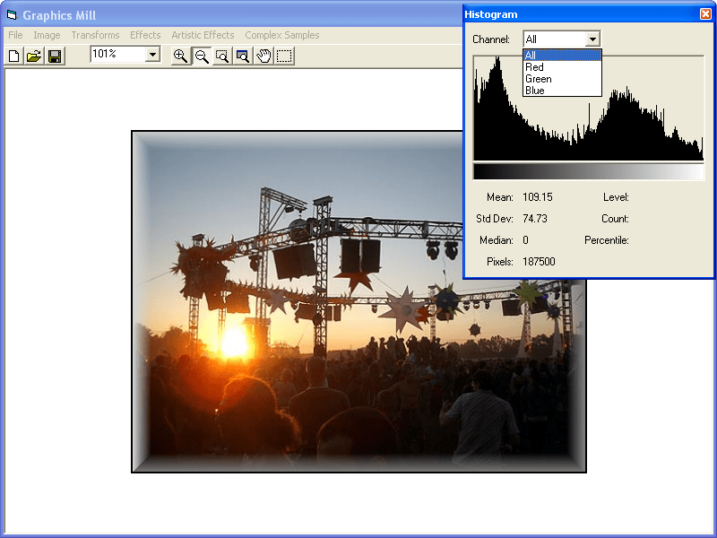 Screenshot of Graphics Mill ActiveX