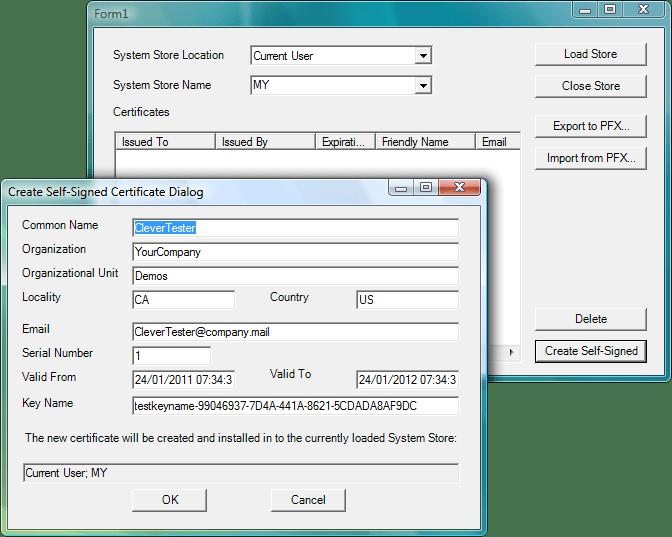 Screenshot of Clever Internet ActiveX Suite