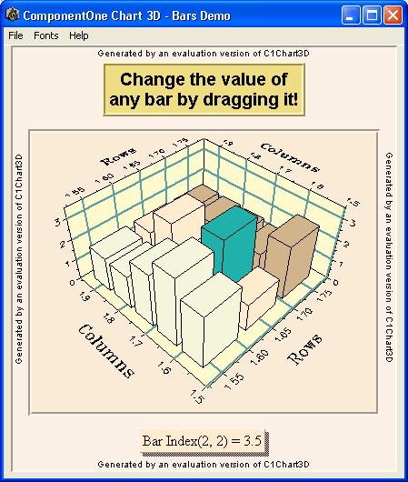 Screenshot of ComponentOne Chart
