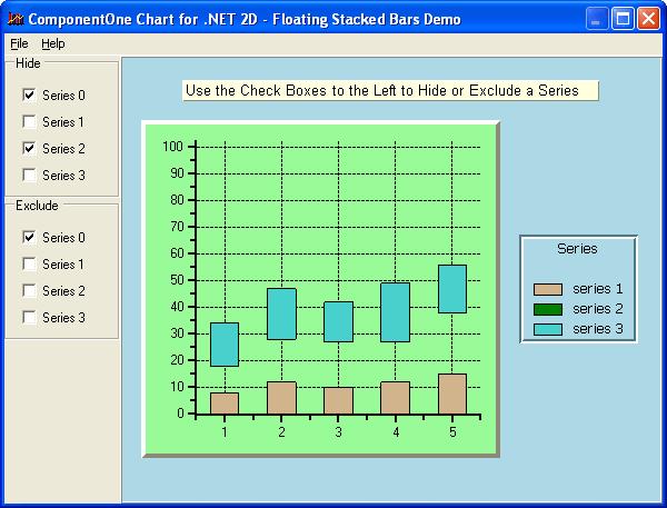 Screenshot of ComponentOne Chart for WinForms