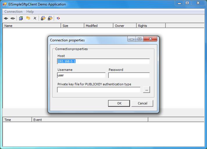 Screenshot of SFTPBlackbox VCL Client - Vendor