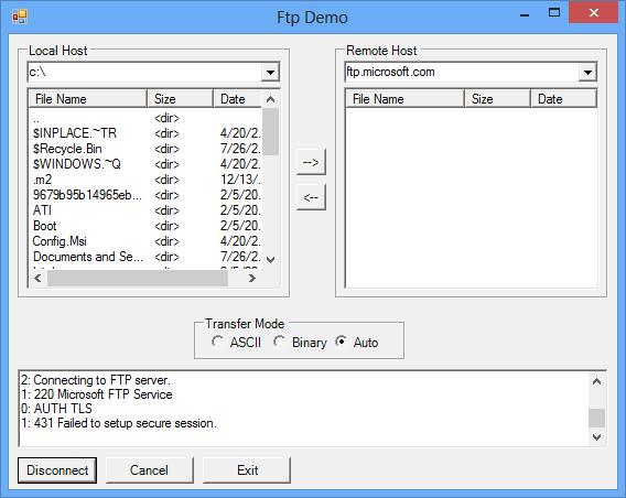 Screenshot of IP*Works! SSL .NET Edition