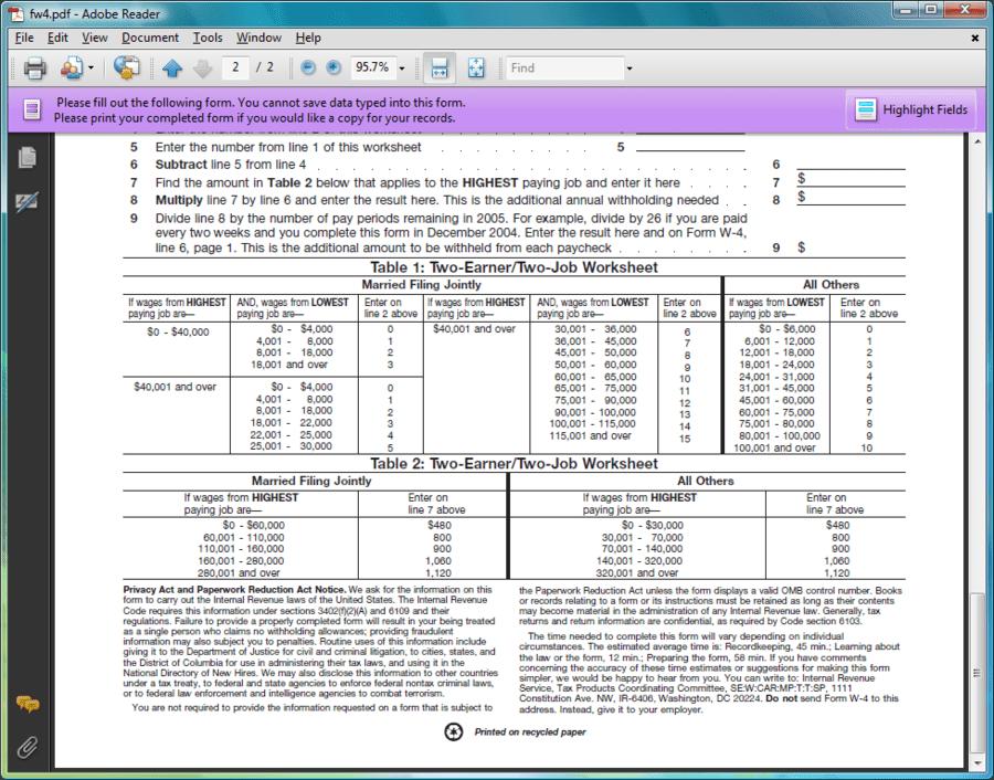 Screenshot of PDF4NET