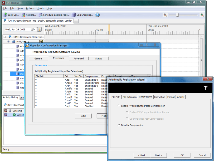 Screenshot of SQL Backup and Restore Bundle