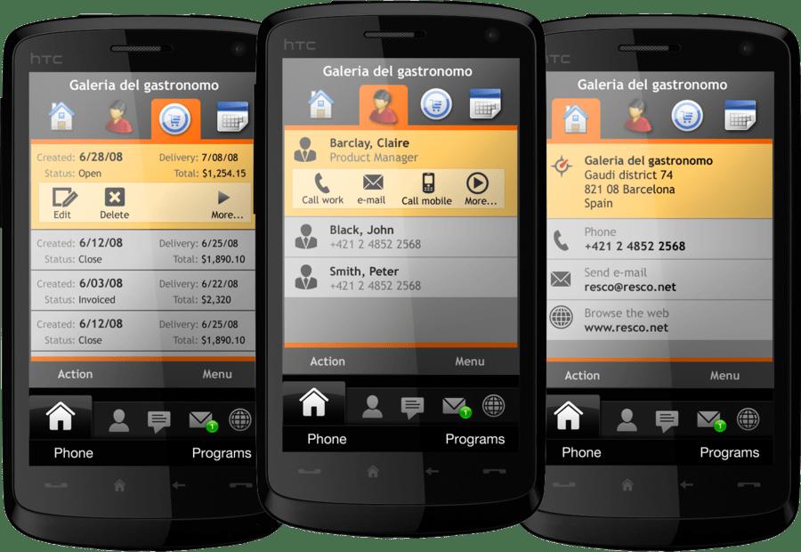 Screenshot of Resco MobileForms Toolkit Windows Mobile Edition
