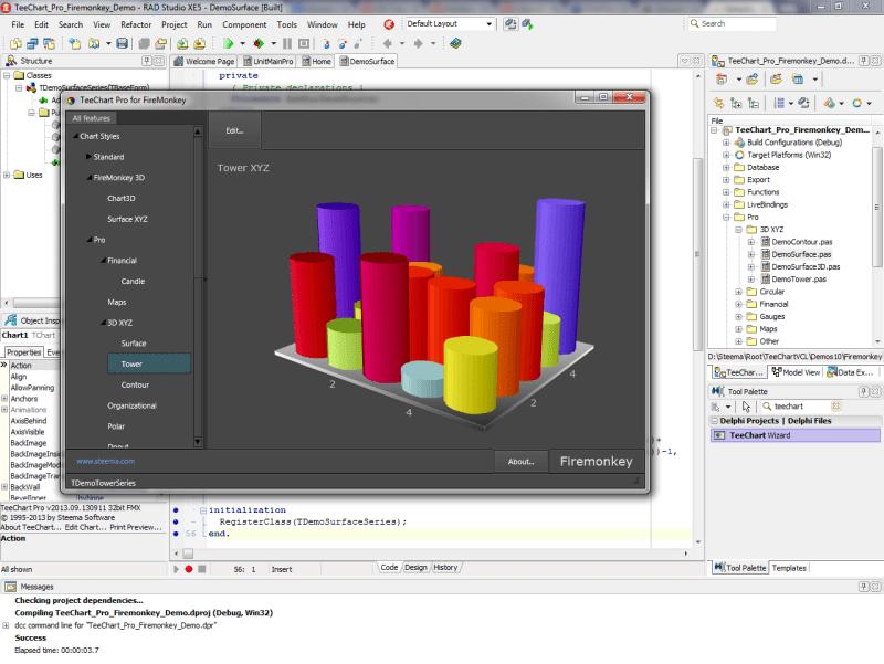 Screenshot of TeeChart Pro VCL/FMX