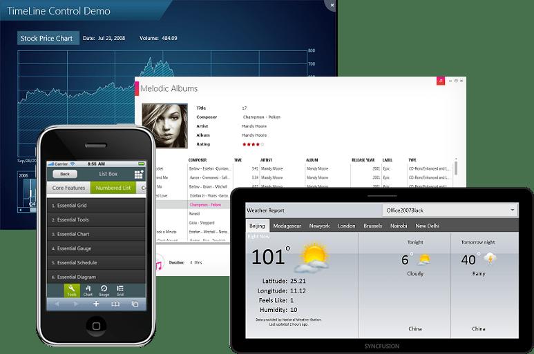 Screenshot of Syncfusion Essential Studio Enterprise Edition