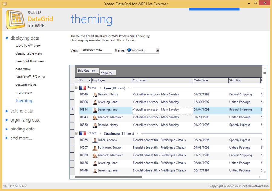 Screenshot of Xceed Ultimate Suite