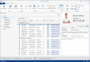 Outlook® inspired data grid and editors.