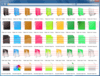 About Grafile File and Folder Bonus Pack: Collection of icons to represent files and folders.