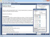 Tabbed MDI: Tabbed MDI is found in modern applications such as Visual Studio and makes the best use of the MDI area's available real estate. With tabbed MDI, there are one or more tab groups with each tab representing a docking window. Similar to tool windows, windows in tabbed MDI may be dragged to create complex hierarchies of tab groups, each of which can be resized.
