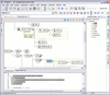 Visual XML Schema Editor: All the elements from the XML Schema specification have a graphical representation. The diagram is synchronized in real time with the changes in the document and allows a quick navigation through the schema structure.